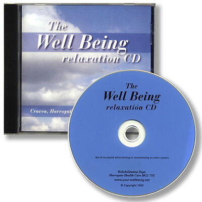 THE WELLBEING RELAXATION CD for stress anxiety - very effective sleep aid
