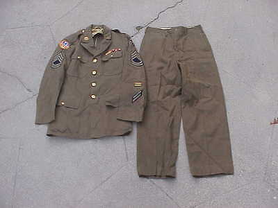 WW2 1941 dated 13th Army Air Force / Far East Pacific Theater Dress Uniform