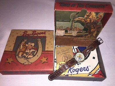 Cowboy Roy Rogers and Trigger Watch by Fossil Limited Edition #1020 MIB