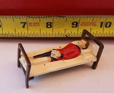 Wounded Soldier In Bed #1 Britains Johillco Timpo