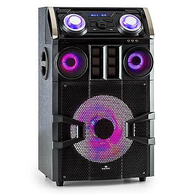 Malone Bluetooth Lautsprecher Mp3 Player Ukw Tuner Led Effekt Rgb Licht 300 Watt
