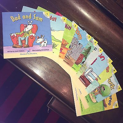 Hooked On Phonics Level 1 Companion Books Complete Set Of 10