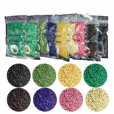 Painless Hair Removal No Strips 50g Multi Depilatory Pearl Hard Wax Beans Beads