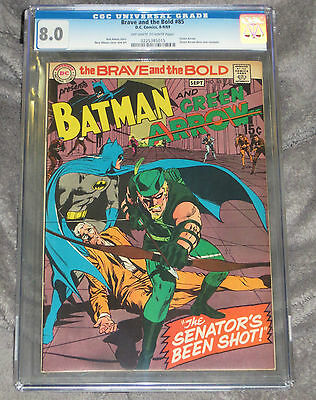 Brave and The Bold #85 CGC 8.0