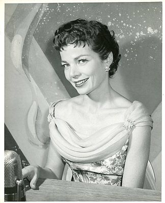 Helen Sherry Smiling Portrait Love Is The Problem Game Show 1954 Abc Tv Photo