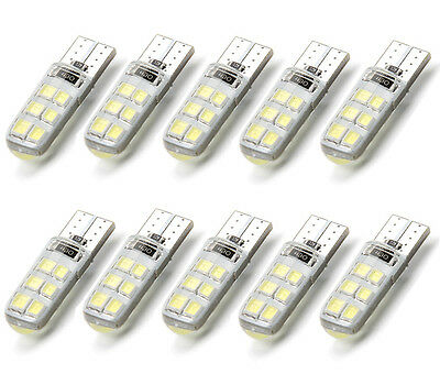 10x T10 W5W 194 COB 2835 SMD 12 LED Auto Canbus Lizenz Light Bulb Deutsche Post