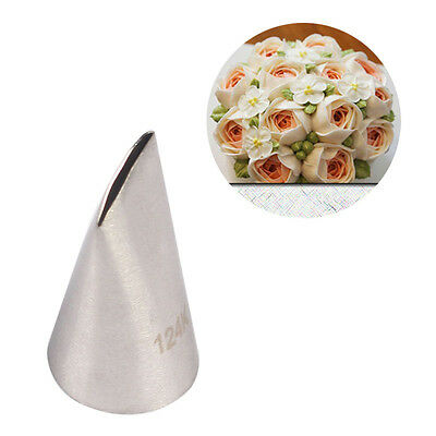 Stainless Steel Big Flower Icing Piping Tips Nozzle Cake Decorating Pastry 124K#
