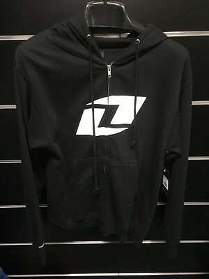 One Industries Black Zip Hoody adults Small