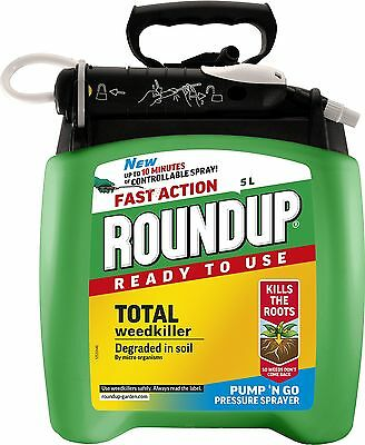 New Weed Killer Spray Ready to Use Pump n Go 5 L Best Premixed UK Fast Delivery