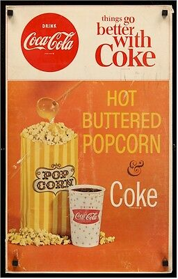 Coca-Cola Hot Buttered Popcorn 60S Posters & Lobby Displays