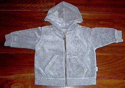 Fred Bare Baby Boys Zip Front Hooded Track Top Sz 0