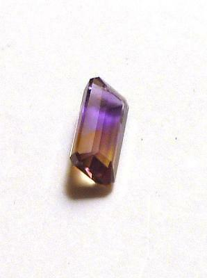 11.5x5mm Ametrine Purple and Yellow Oval Gemstone 3cts! VVS Quality