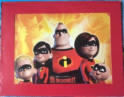 Disney Lithograph - The Incredibles