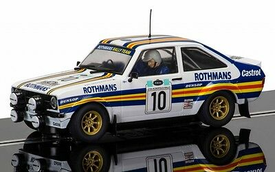 1/32 SCALEXTRIC C3749 FORD ESCORT MKII ROTHMANS Slot Car