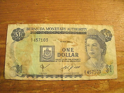 One Dollar Bermuda Monetary Authority Note