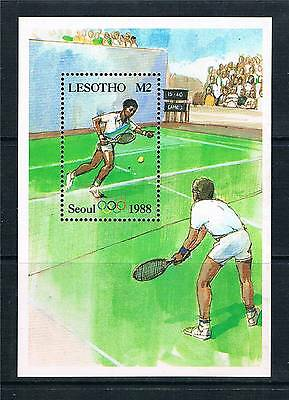 Lesotho 1987 Olympic Games 1v MS SG 760a MNH