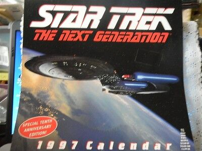 Star Trek The Next Generation 1997 Calendar