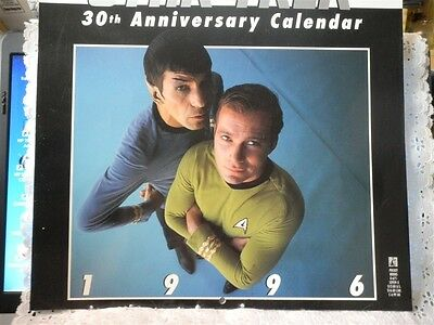 STAR TREK 1996 30th ANNIVERSARY CALENDAR