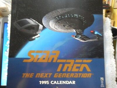 Star Trek The Next Generation 1995 Calendar