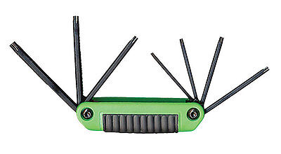 Eklind  Fold-Up  Tamper Resistant Torx Hex Key Set  7 pc.