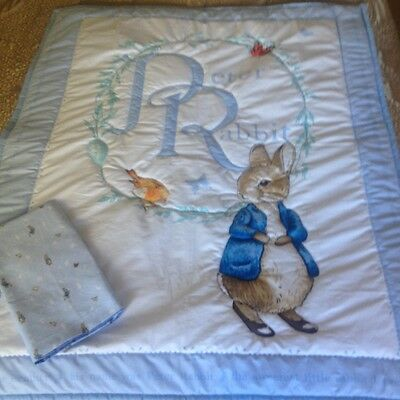 Peter Rabbit Cot Quilt