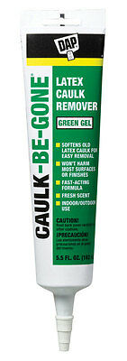 Dap  Caulk-Be-Gone  Odorless Caulk Remover  5.5 oz. Gel
