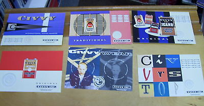 Civvy Jeans International Airmail Postcards (6)