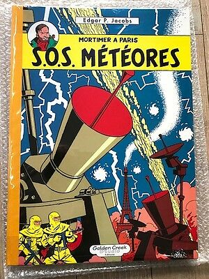 Tl Golden Creek Blake Mortimer Jacobs Sos Meteores Parfait Etat 495 Ex