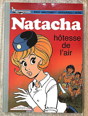 GOLDEN CREEK GRAND XXème NATACHA Tome 1 WALTHERY 495 EX NEUF EPUISE