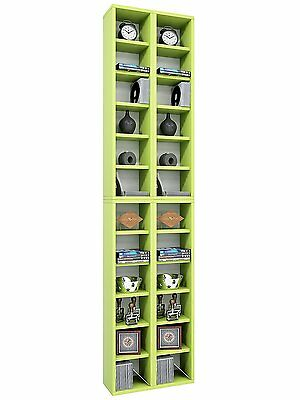 "VCM ""Almera"" Archiving System for 408 CDs, Wood, Green"