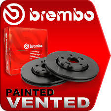 Bmw E46 Genuine Brembo Front Painted Brake Discs 286Mm And Pads 02/1998->