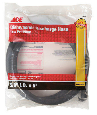 Ace  5/8 in. Dia. x 6 ft. L Dishwasher Discharge Hose