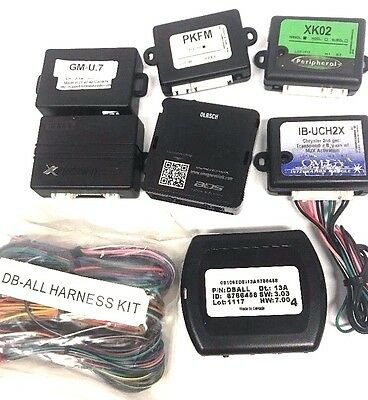 DBALL3  iDatalink Xpresskits OmegaLink  Databus Interface 7 Item Wholesale Lot
