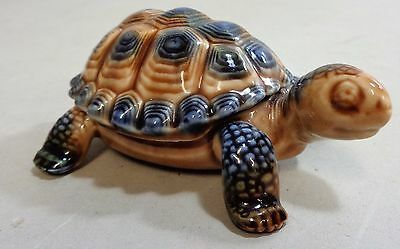 Vintage Wade Tortoise Lidded Trinket Ring Box 10cm Length In Good Condition