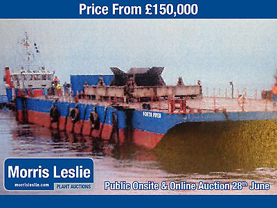 1976 Lloyds Class 100A Steel Barge with 20m Spud Legs