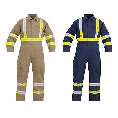 Propper Flame Resistant Coverall - Reflective Trim 88%C-12%N F5126