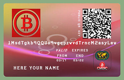 0.05 Bitcoin (BTC) Billetera Personalizada Direct To Your Wallet only 150 €