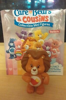 New Care Bears & Cousins - Brave Heart Lion Collectible Mini Figures Series 4