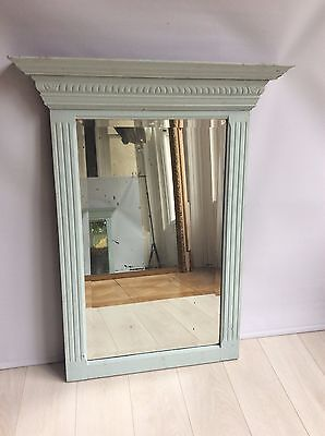 Painted Antique French mirror