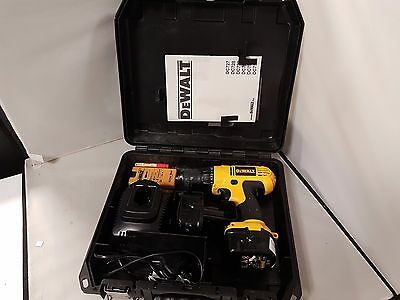 DeWALT DC727 Cordless Drill, 2x Battery, Charger, Case