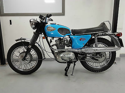 1968 Bsa Starfire 250 - Import Model With Mid Level Exhaust - Bike Now Sold