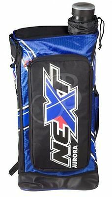 Rucksack f. Bogensport, Recurvebogen Tasche Aurora Next archery bag black-blue