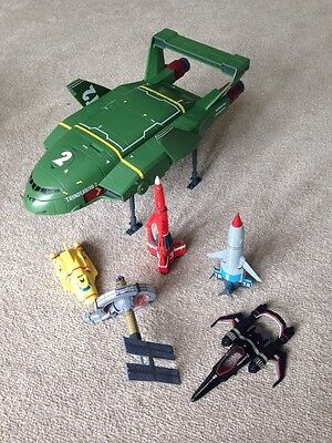 Supersize Thunderbird 2 4 Diecast Bundle 5 S Rockets