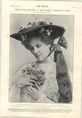 1905 Miss Lettice Fairfax, And All The Winners Into Varsity Sports