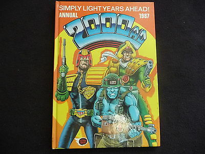 2000AD annual 1987 in very good condition