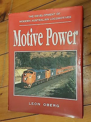 MOTIVE POWER  by Leon Oberg