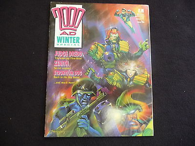 2000AD Judge Windows Special no 1