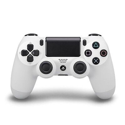 Sony Playstation PS4 Controller Dual Shock wireless bianco - 306401- CS