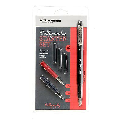 Osmiroid Calligraphy Set 3 Nib New Picclick Uk