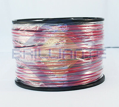Twin Core 4Mm Figure 8 Red/black 30M Wire Cable 15 Amp Tycab Trailer 12V 2